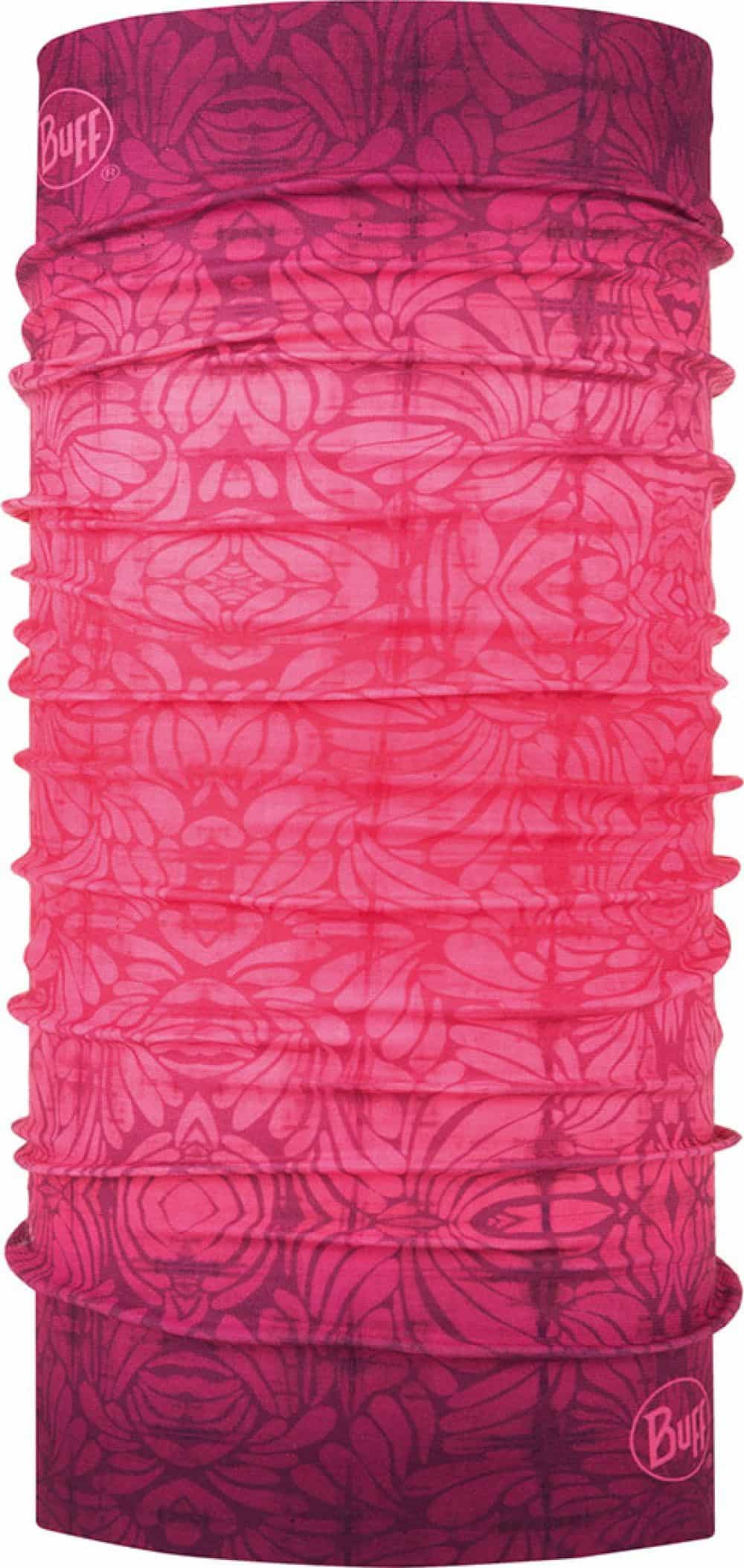 "Studio photo of the Original Buff® Design ""Boronia Pink"". Source: buff.eu"
