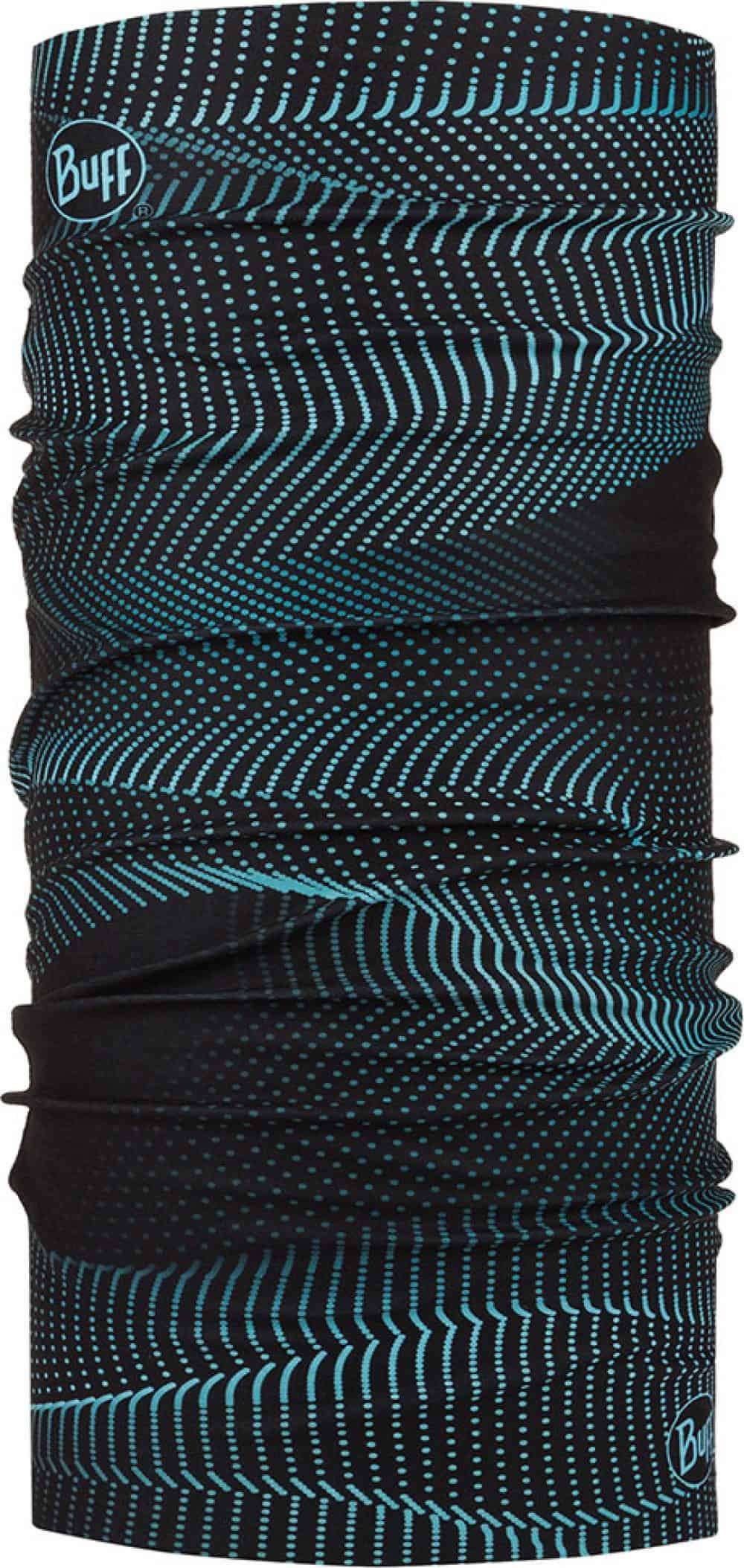 "Studio photo of the Original Buff® Design ""Glow Waves Black"". Source: buff.eu"