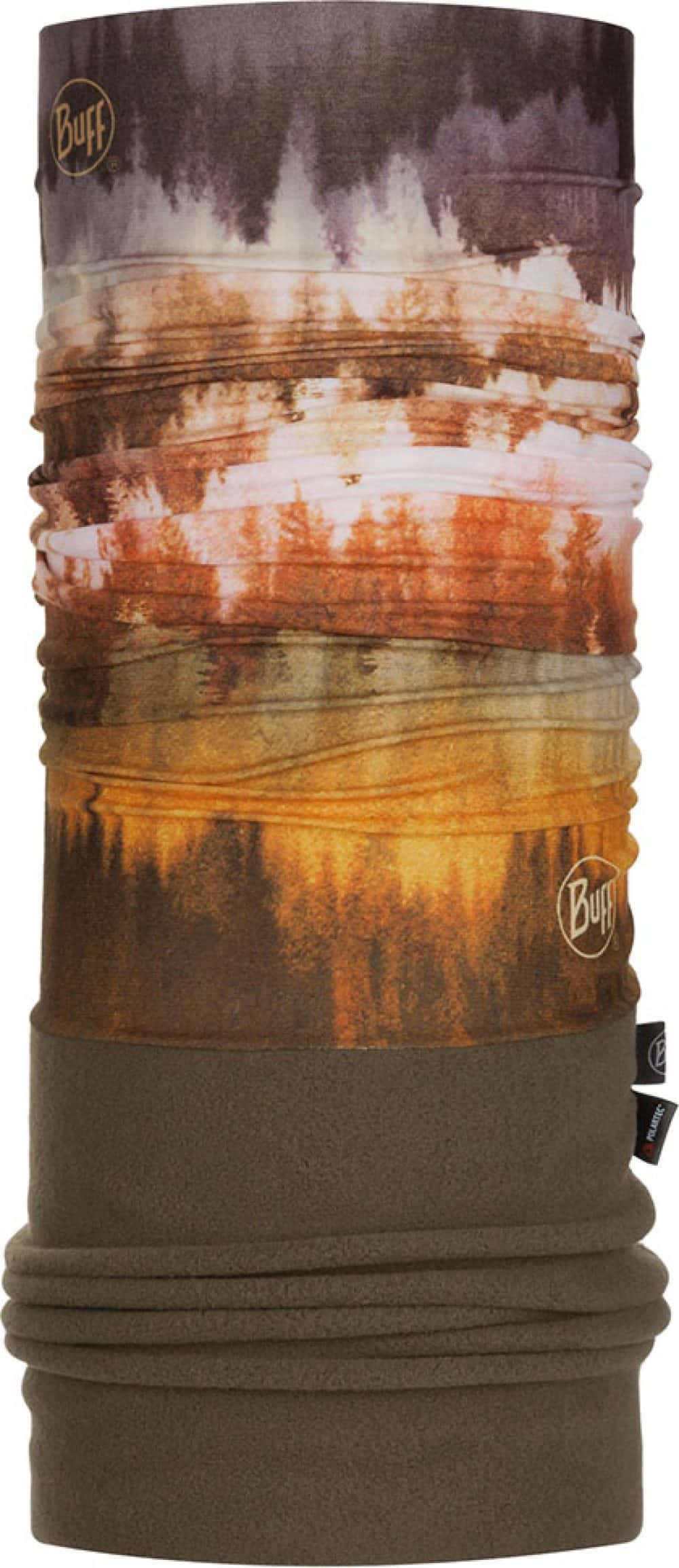 "Studio photo of the Polar Buff® Design ""Misty Woods Brown"". Source: buff.eu"