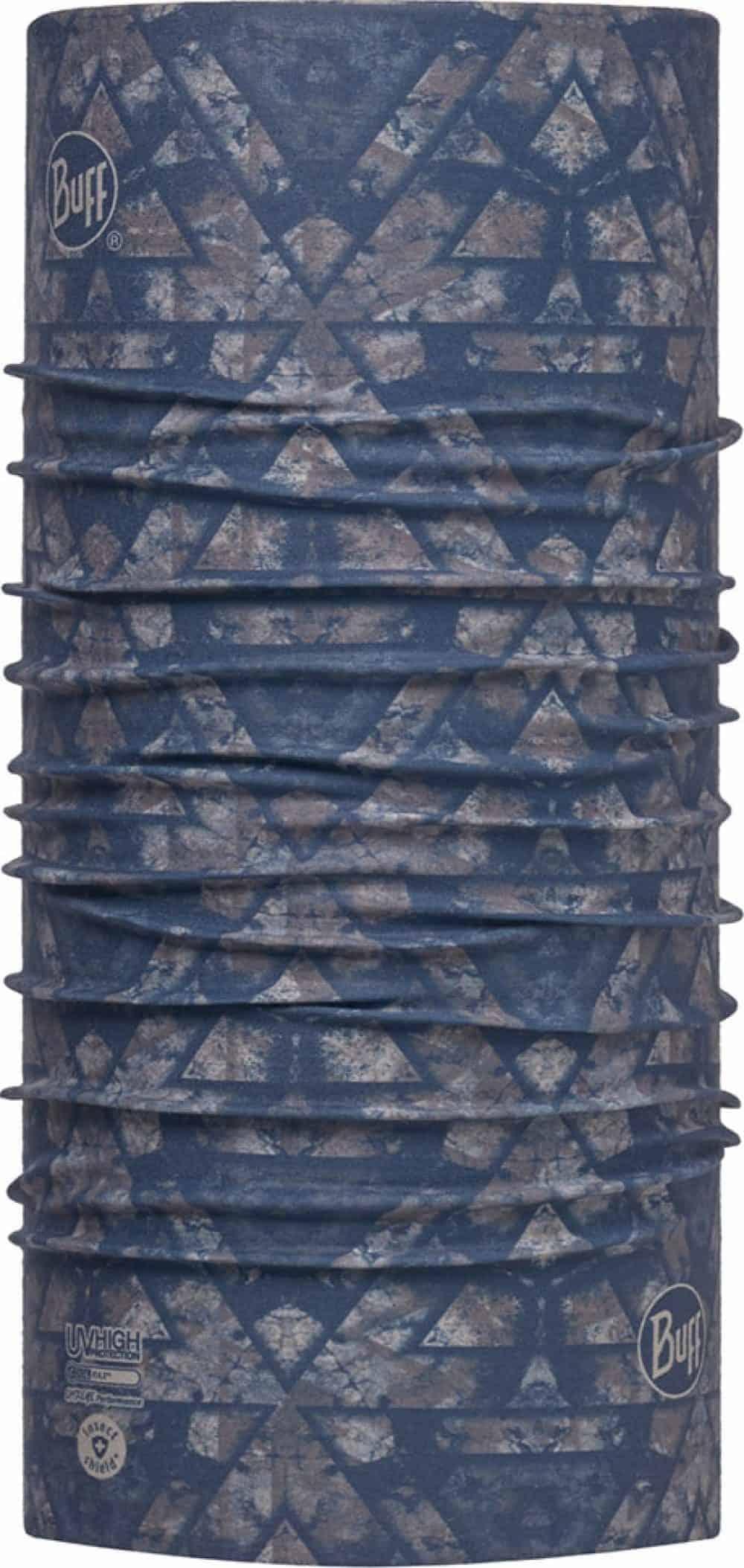 "Studio photo of the Insectshield™ High-UV Buff® design ""Unigami"". Source: buff.eu"