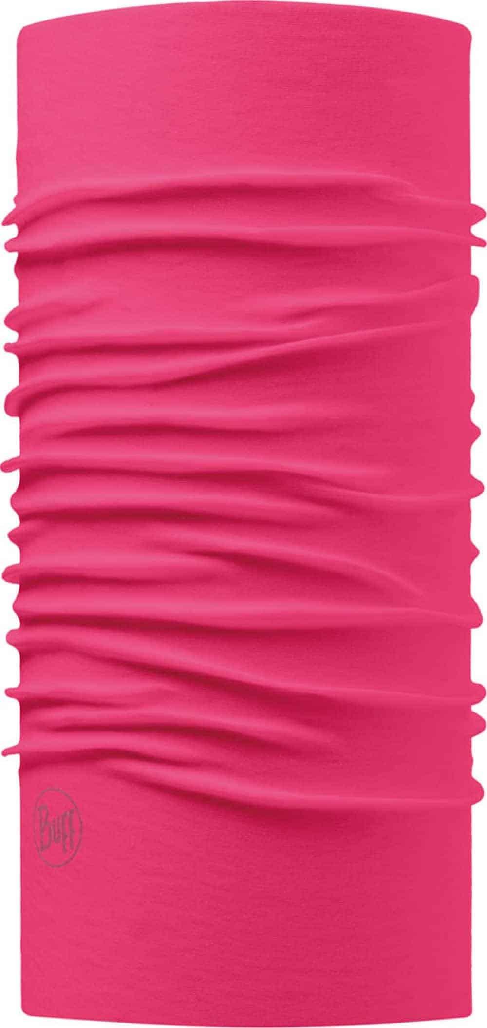 "Studio photo of Original Buff® design ""Pink Honeysuckle"". Source: buff.eu"
