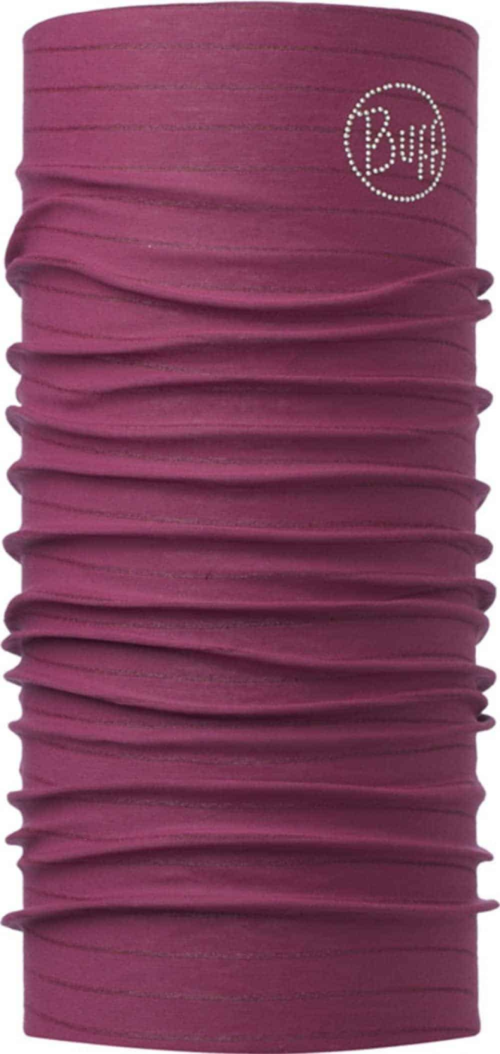 "Studio photo of the Original Buff® design ""Amaranth Purple Chic"". Source: buff.eu"