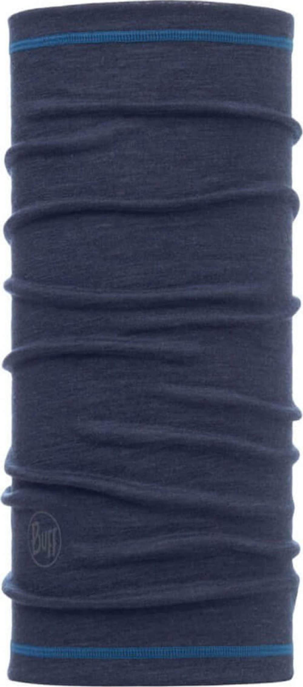 "Studio photo of the 3/4 Wool Buff® Design ""Denim"". Source: buff.eu"