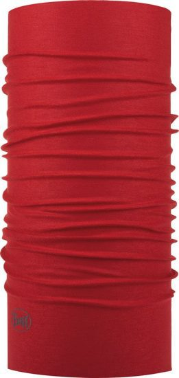 "Studio photo of the Original Buff® Design ""Red"". Source: buff.eu."