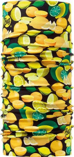 "Studio photo of the Dry Cool Buff® Chefs Collection Design ""Citric"". Source: buff.eu"