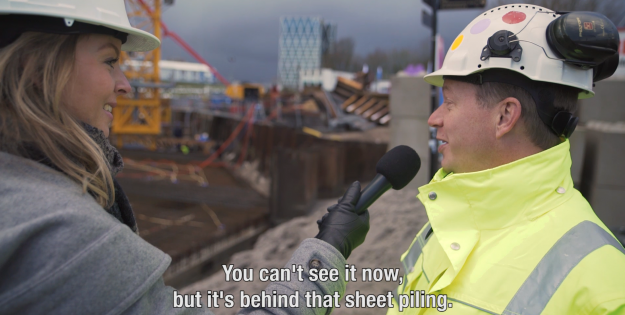 Update bouw - filmpje 2 hotel nhow Amsterdam RAI