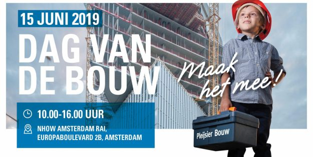 Visit nhow Amsterdam RAI during the Dag van de Bouw