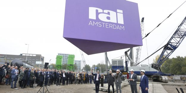 Construction underway on new hotel nhow Amsterdam RAI