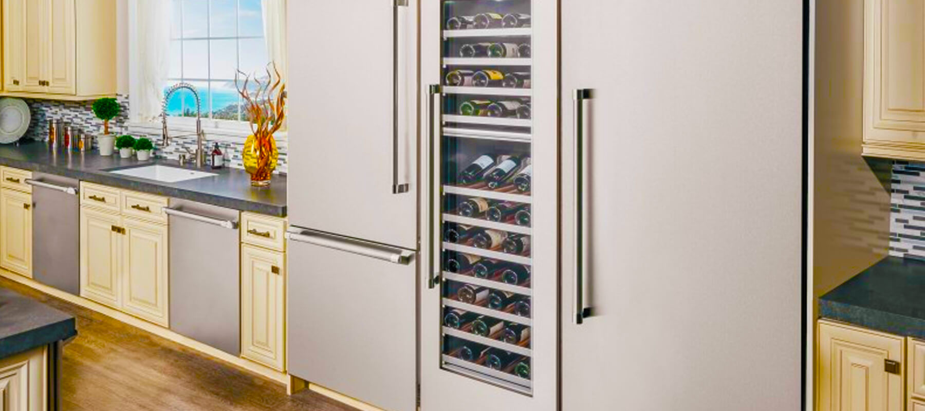 Built in Counter Depth Refrigerator Chino Hills | Built-in Refrigerator Repair