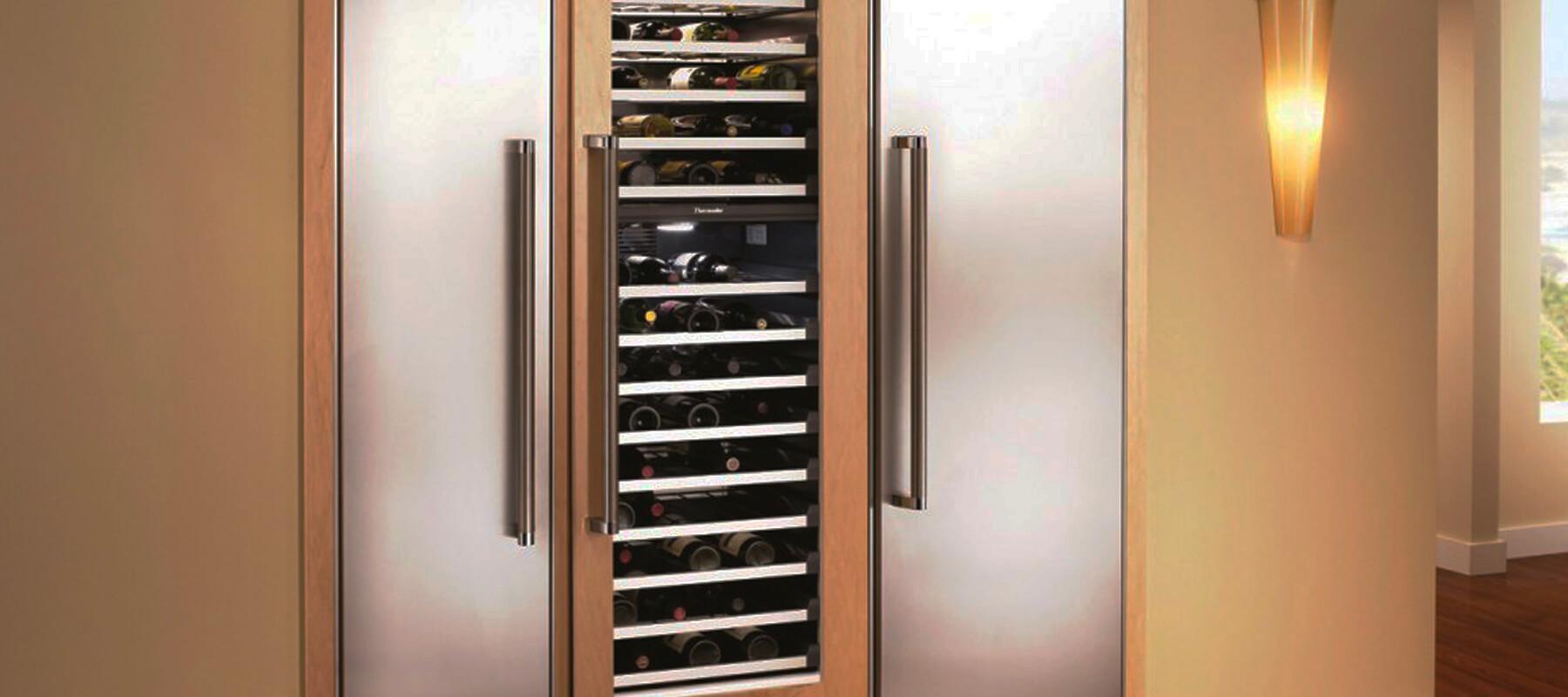 Built in Wine Refrigerator San Diego   Built-in Refrigerator Repair