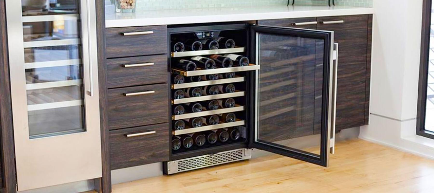 Built in Wine Refrigerator Undercounter Irwindale   Built-in Refrigerator Repair