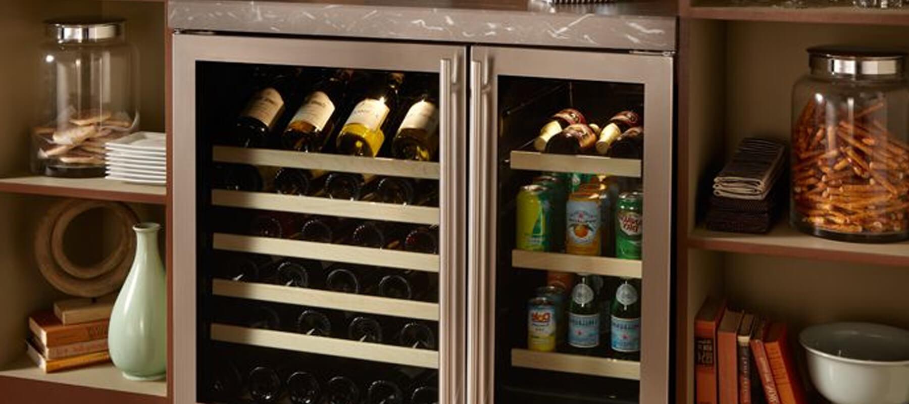 Built in Wine Refrigerator Undercounter Laguna Beach | Built-in Refrigerator Repair