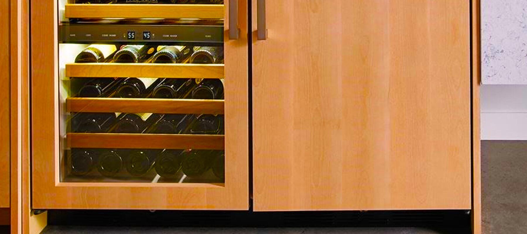 Built in Wine Refrigerator Undercounter Los Angeles | Built-in Refrigerator Repair