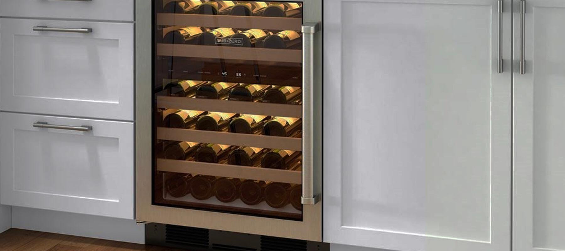 Built in Wine Refrigerator Undercounter San Diego   Built-in Refrigerator Repair