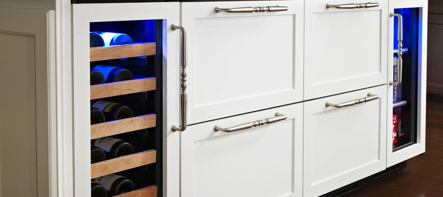 Built in Wine Refrigerator Undercounter San Francisco | Built-in Refrigerator Repair
