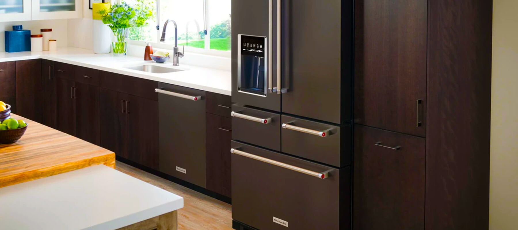 Kitchenaid Built in Refrigerator Repair Near Me | Built-in Refrigerator Repair