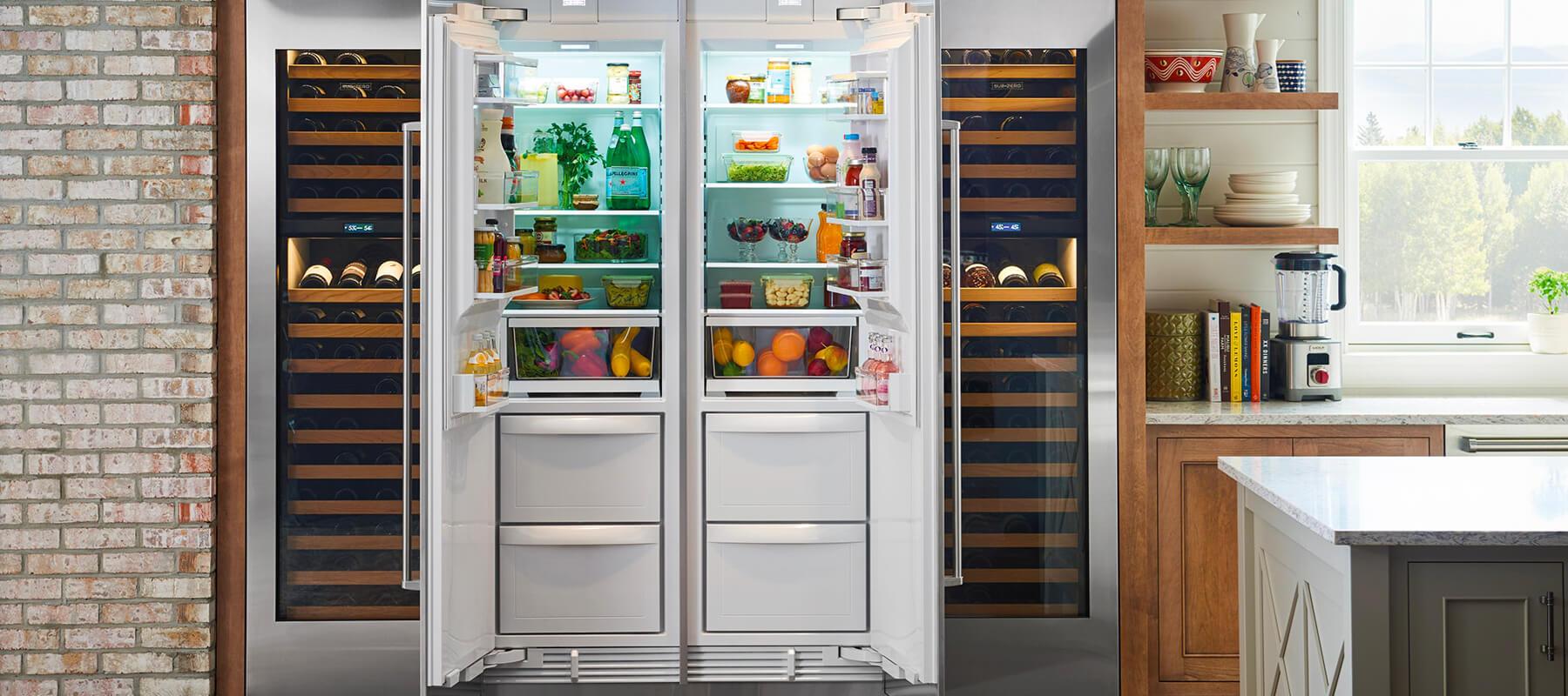 Sub Zero Built in Refrigerator Service | Built-in Refrigerator Repair