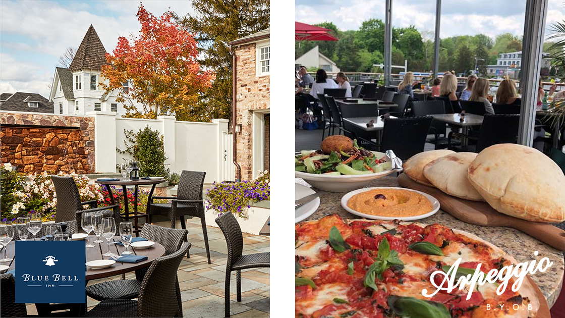 Outdoor Dining Guide Around Ambler