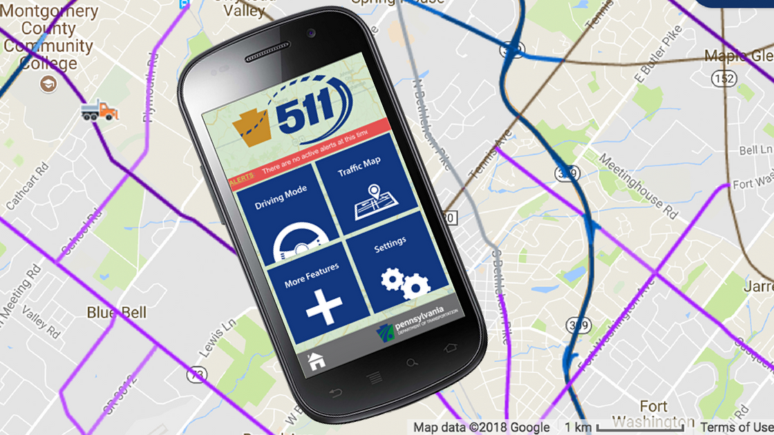 511 App Gives Real-Time Traffic Advisories, Plow Truck Tracking and