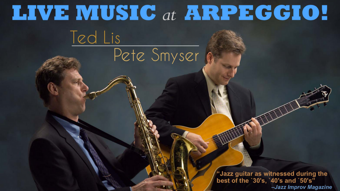 Introducing Sunday Night Jazz Fests at Arpeggio During