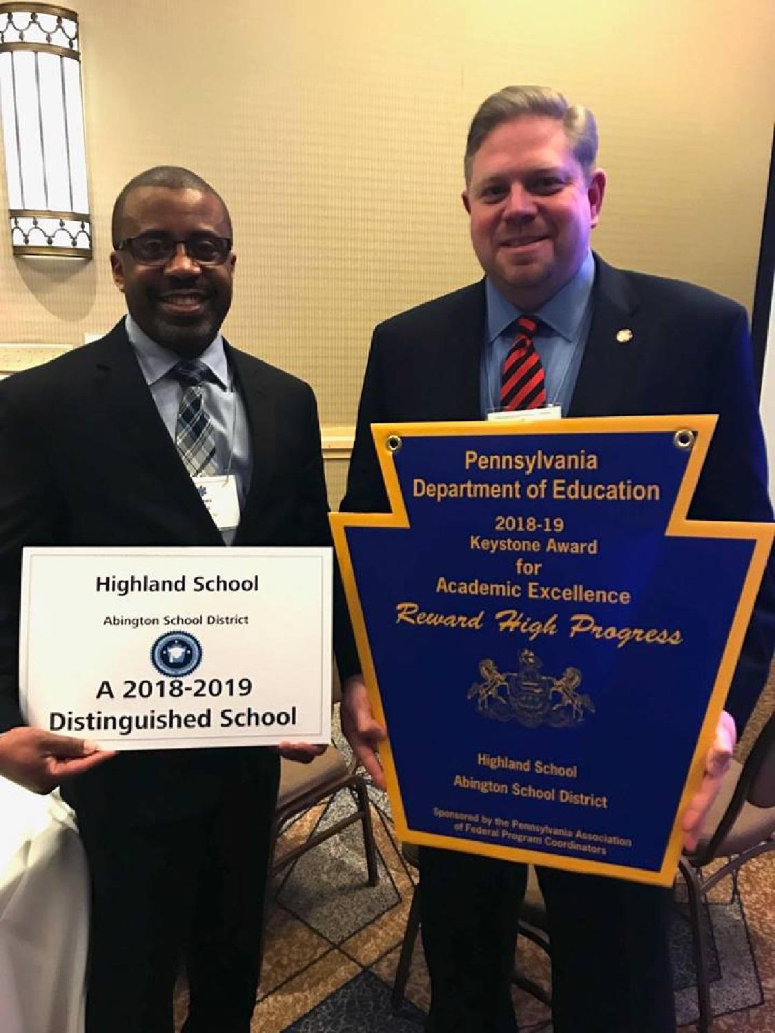 Highland Elementary School Recognized For Progress