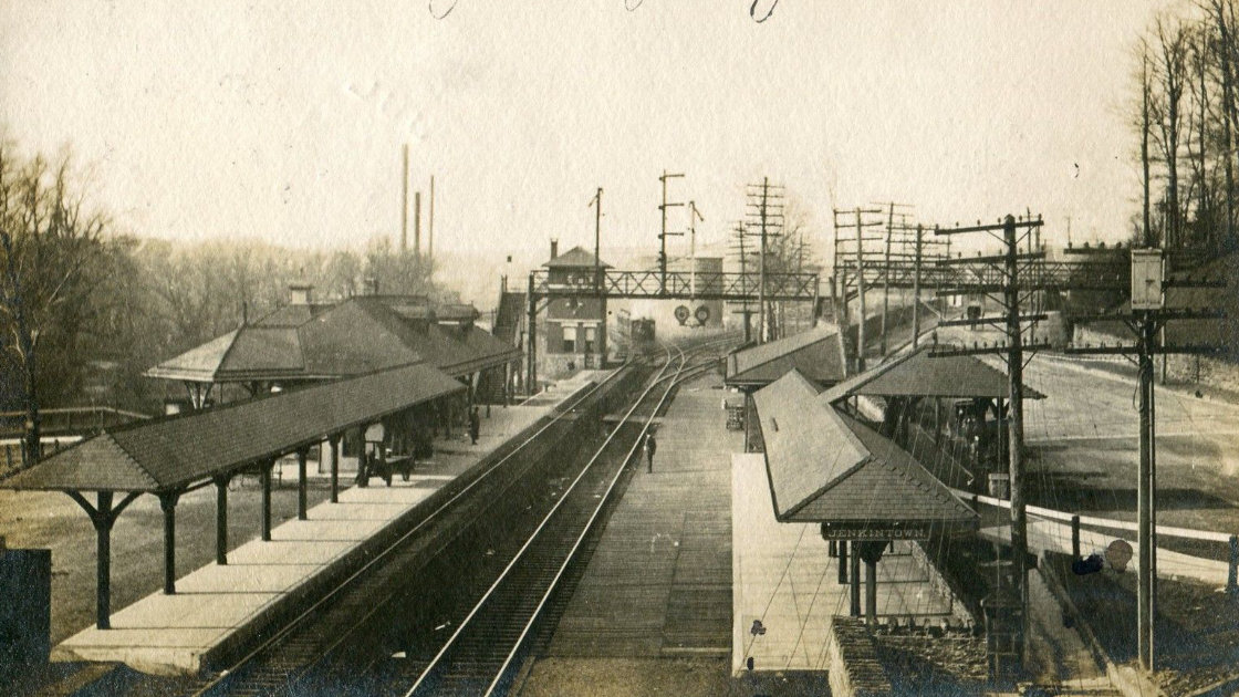 Jenkintown station historic image