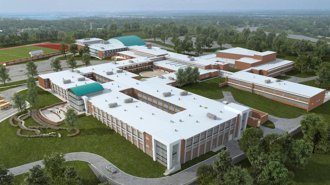 Abington Senior High School rendering