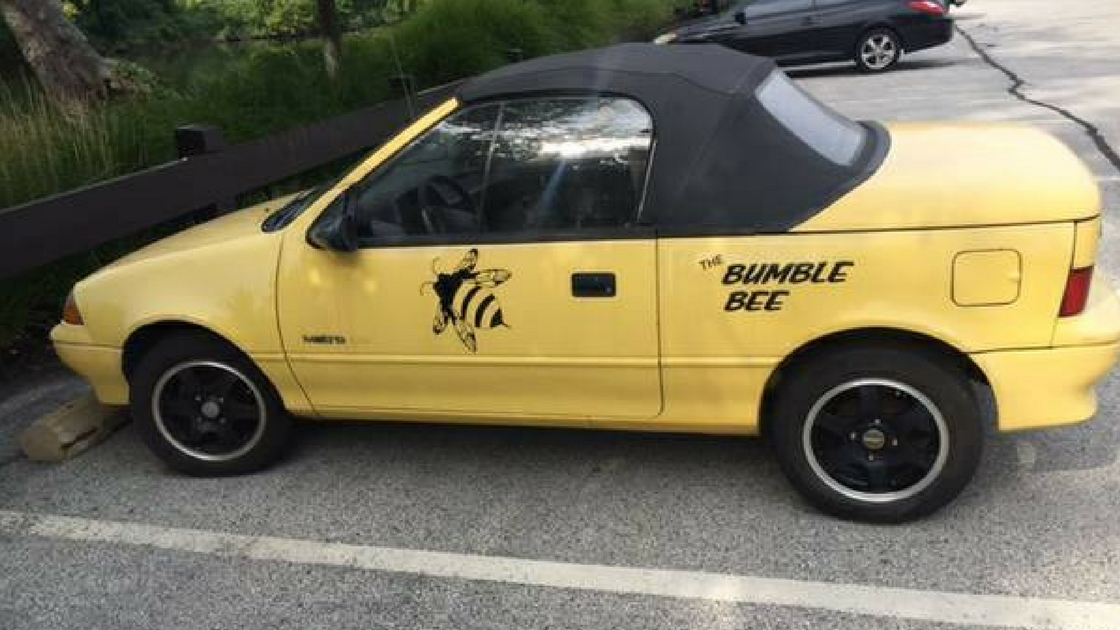 The Ble Bee Geo Metro Convertible Is For