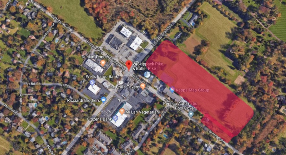 60 Townhouses Proposed for Corner of Butler Pike and