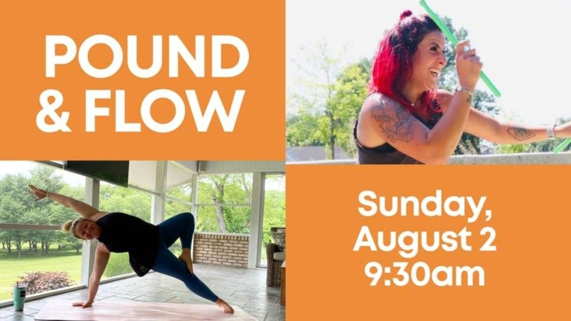 Upcoming Outdoor Classes And Special Combo Class With Pound With Sol Yoga Studio Morethanthecurve