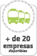 Horarios de buses de más de 200 empresas de buses