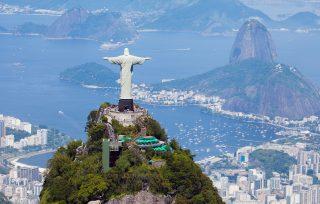Brazilská burza začala rok nebývalým skokem