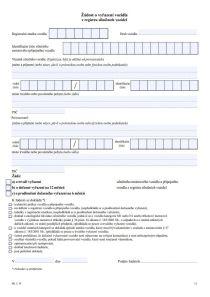 Odhlášení vozidla z registru