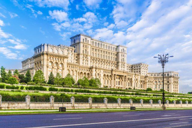 Budova rumunského parlamentu