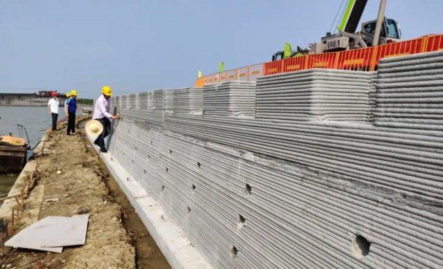 3D zeď v čínském městě Su-Čou od společnosti Winsun