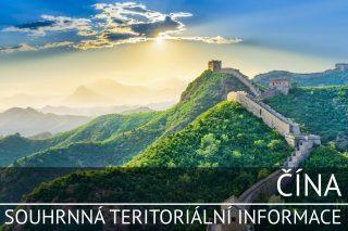 Čína: Souhrnná teritoriální informace