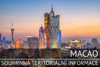 Macao: Základní charakteristika teritoria, ekonomický přehled