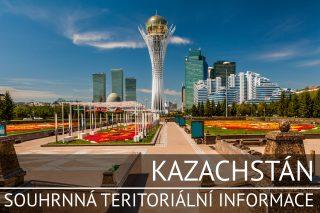 Kazachstán: Souhrnná teritoriální informace