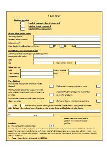 Žádost o povolení k nabytí vlastnictví, držení, nošení zbraně kategorie B – Ministerstvo vnitra (MV)