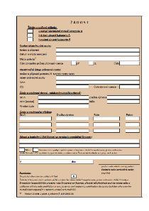 Žádost o udělení výjimky k nabytí vlastnictví, držení, nošení zbraně kategorie A – Ministerstvo vnitra (MV)