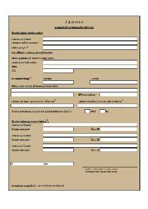Žádost o povolení k provozování střelnice – Ministerstvo vnitra (MV)