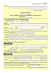 Formulář žádosti o zápis/změnu zápisu/výmaz školy nebo školského zařízení do/v/z rejstříku škol a školských zařízení (MŠMT)