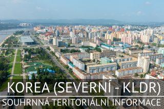 Korea (Severní - KLDR): Souhrnná teritoriální informace