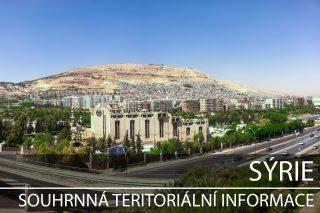 Sýrie: Souhrnná teritoriální informace