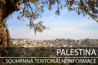 Palestina: Souhrnná teritoriální informace
