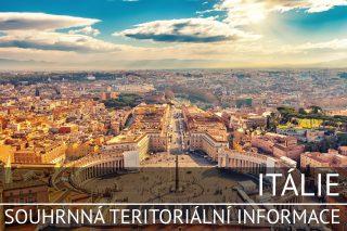 Itálie: Souhrnná teritoriální informace