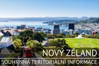 Nový Zéland: Souhrnná teritoriální informace
