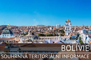 Bolívie: Základní charakteristika teritoria, ekonomický přehled