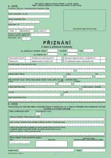 Přiznání k dani z přidané hodnoty (DPH) – Finanční správa ČR (FS ČR)