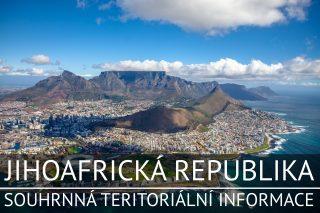 Jihoafrická republika: Základní charakteristika teritoria, ekonomický přehled